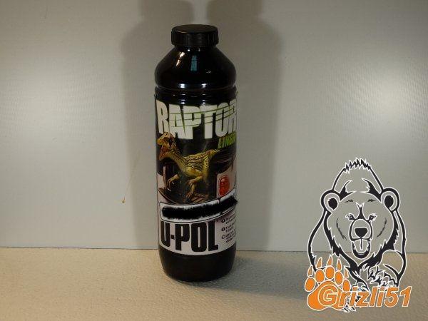 RAPTOR™ U-POL чёрный 0.75л. (бутылка)
