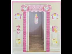 """Набор для украшения """"С рождением малышки девочки"""" (10 предметов) 21250"""