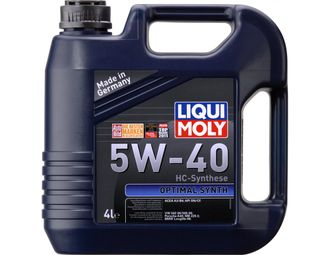 LIQUI MOLY Optimal Synth 5W-40