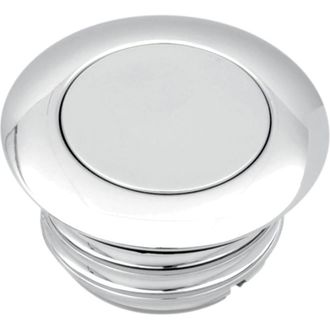 0703-0459 Drag Specialties Горловина бака POP-UP GAS CAP VENTED CHROME