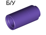 ! Б/У - Technic, Pin Connector Round 2L without Slot Pin Joiner Round, Purple (75535) - Б/У