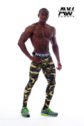 Леггинсы LEGGINGS CAMO AW 115
