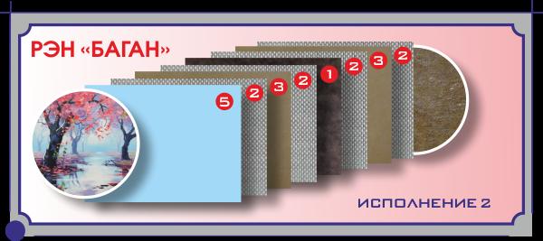 Конструкция РЭН-5 греющей картины