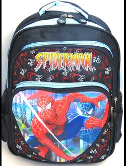 рюкзак спайдермен Spider-Man, ортопедический  3D