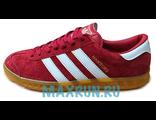 Кеды Adidas Hamburg красные