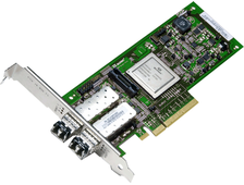 Контроллер Qlogic QLE2562-CK 8Gb 2-port FC HBA x8 PCIe LC ММ