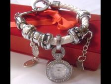 Модные часы-подвеска в стиле Пандора
