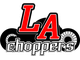 LA-1194-04 LA CHOPPERS SLIP-ON MUFFLER ALUMINUM|CARBON FIBER BLACK-CHROME