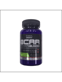 Порционные бцаа ultimate nutrition bcaa powder 12000 serv 7.6g