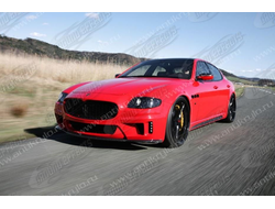 Обвес WALD на Maserati Quattroporte FULL Body Kit 04-07