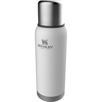 Термос STANLEY ADVENTURE Vacuum Bottle 1L белый