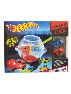 "Игровой набор Hot Wheels ""Double Pull Back Car"""