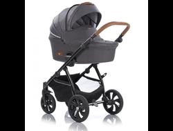 Универсальная коляска Tutis Zippy Aero (3 в 1)  вет 103 Dark grey/Ebony Графит