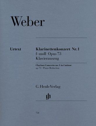 Weber Clarinet Concerto no. 1 f minor op. 73