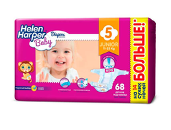 Подгузники Helen Harper Baby Junior 5 (11-25 кг) 68 шт.