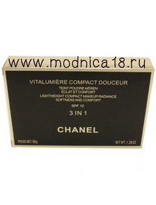 Пудра Chanel Vitalumiere Compact Douceur 3in1