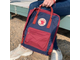 Рюкзак Fjallraven Kanken Royal Blue - Ox Red (Classic)