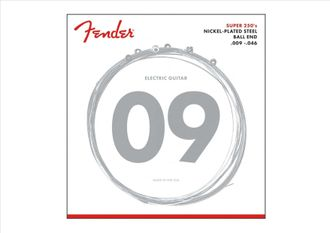 Фото FENDER STRINGS NEW SUPER 250LR NPS BALL END 9-46, струны, на сайте domstereo.ru