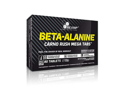 (OLIMP) Beta-Alanine Carno Rush Mega - (80 табл)