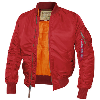 Куртка Alpha Industries MA-1TT Red Comander