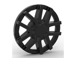 Wheel Cover 10 Spoke Spokes in Pairs - for Wheel 18976, Black (24308a / 6134897)