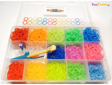 Rainbow loom bands набор 2600 штук