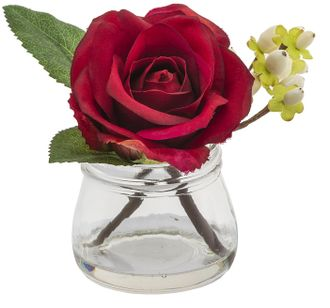 Цветок в геле  SIA LYSA ROSE BERRIES IN GLASS , 093893 ,