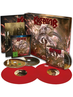 KREATOR Gods of violence BOX SET