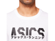 Купить Футболка Asics KATAKANA GRAPHIC TEE BRILLIANT WHITE 2031B912-100 в белом цвете фото