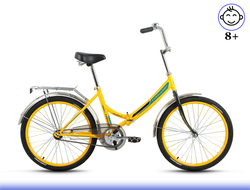 "FORWARD VALENCIA 1.0 24"" (Жёлтый) Kiddy-Bikes"
