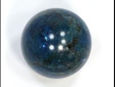 Шар Апатит синий, Бразилия (39 мм, 99 г) №20818