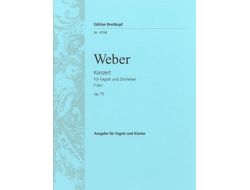 Weber: Bassoon Concerto F major op. 75