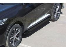Пороги на Haval F7 (2019-…) Black Optima