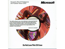 Microsoft Office XP Professional w/ Publisher 2002 OEM M04-00240