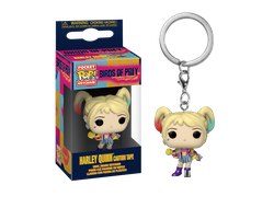 Купить Брелок Funko Pocket POP! Keychain: Birds of Prey: Harley Quinn (Caution Tape)