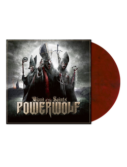 POWERWOLF - Blood of the saints LP colored