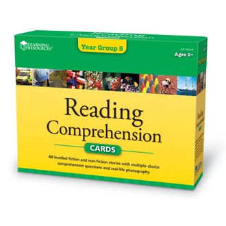 Reading Comprehension Cards Year Group 5