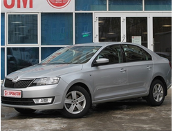 Skoda Rapid Hockey Edition 1.6 MPI AT (110 л.с.) 2016 год