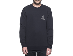 Худи HUF Triple Triangle Crew black