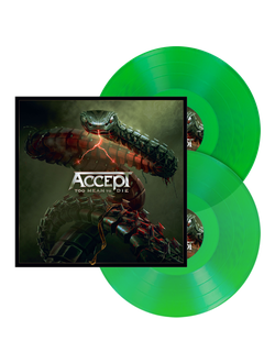 ACCEPT - Too mean to die 2-LP green