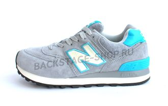 Кроссовки New Balance 574  Gray\Blue