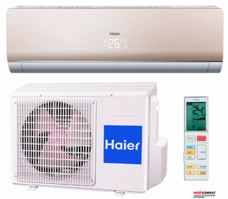HAIER серия Lightera - HSU-24HNF203/R2-Gold