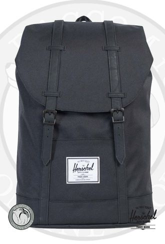 Herschel Retreat Black/Black