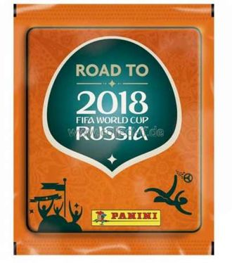 "Наклейки ""ROAD TO 2018 FIFA World Cup Russia™"" (5 наклеек в пакетике)"