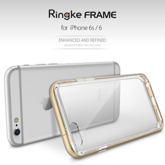Чехол на Apple iPhone 6 и 6S, Ringke серия Frame, цвет мятный (Frost Mint)