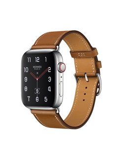 Купить Apple Watch Hermès S4 40мм with fauve barenia leather single tour в iStore-Moscow