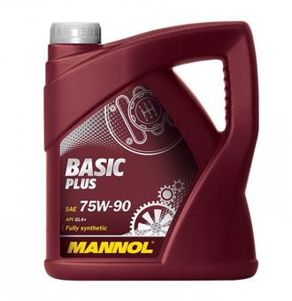 Mannol Basic Plus SAE 75W90 (4 литра)