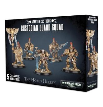 Warhammer 40000: Custodian Guard Squad