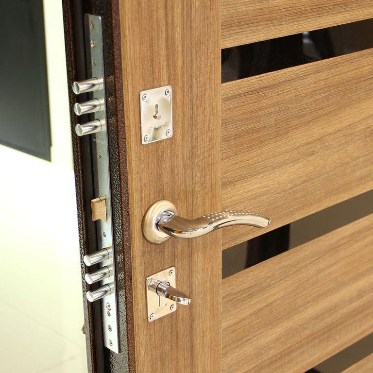 стальная дверь оптима с антивандальным покрытием
