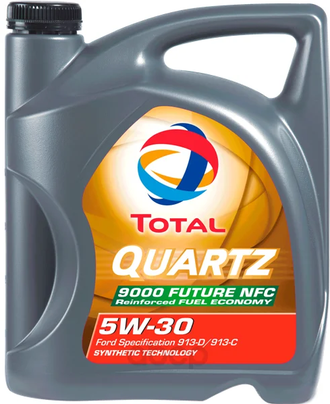 Total Quartz 9000 FUTURE NFC 5W30, 4 л.